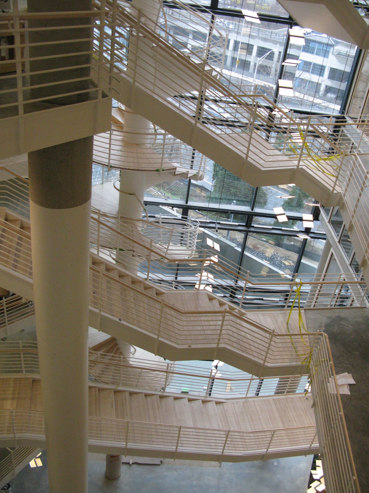 German architecture in baltimore community architect for Residential atrium