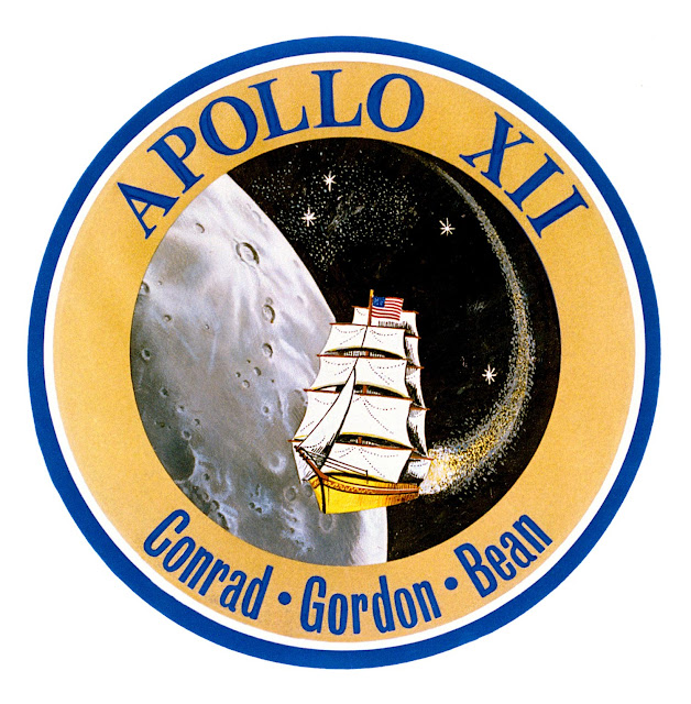 U.S.A Apollo 11 Moon Landing 1969 China Thimble B//116