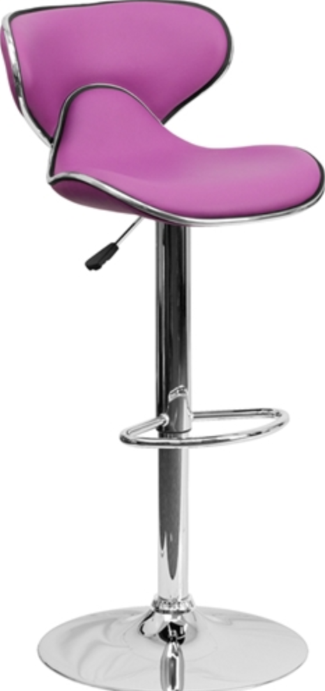 Purple bar Stool by Flash Furniture
