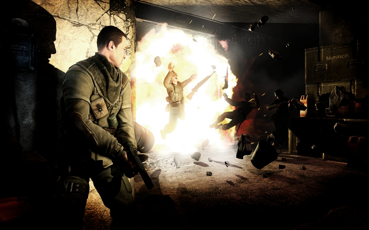 Sniper Elite V2, HD Wallpaper
