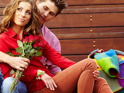 fotos de chico con rosas