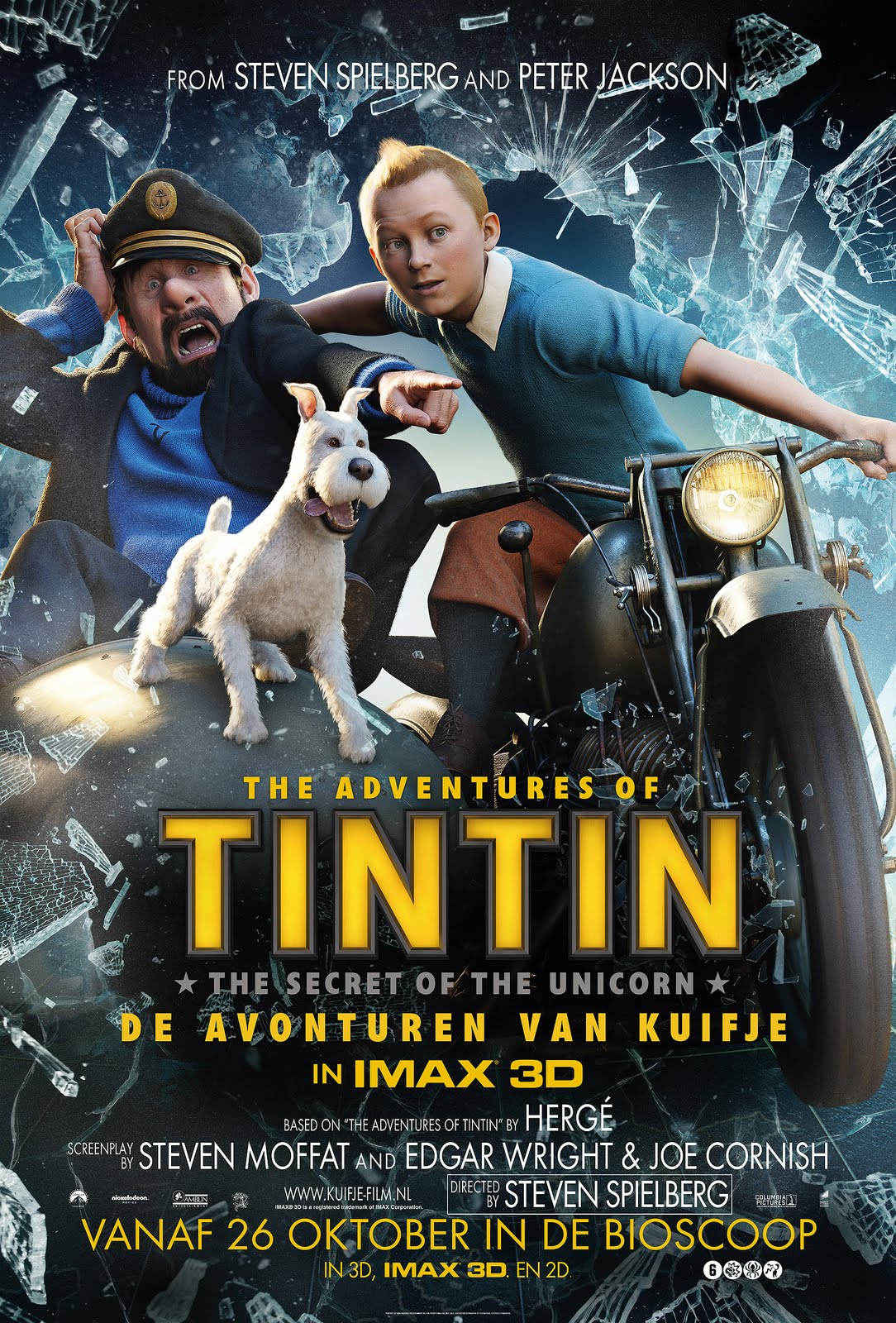Movies: Posters of The Adventures of Tintin (2011)