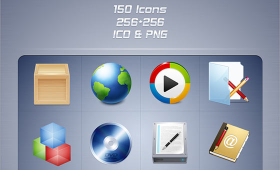 Free Phuzion Icons Sets