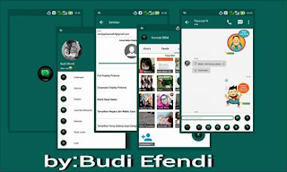 Download BBM MOD GREEN MINIMALIST 2.10.0.30 APK