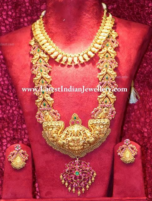 Heavy Gold Bridal Haram