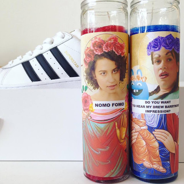 Broad City prayer candles