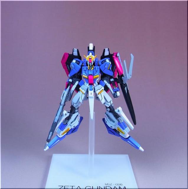 Zeta Gundam figures