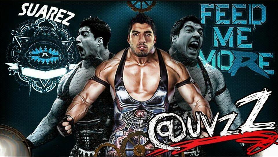 Luis Suarez, bite, World Cup 2014, wrestling, WWE