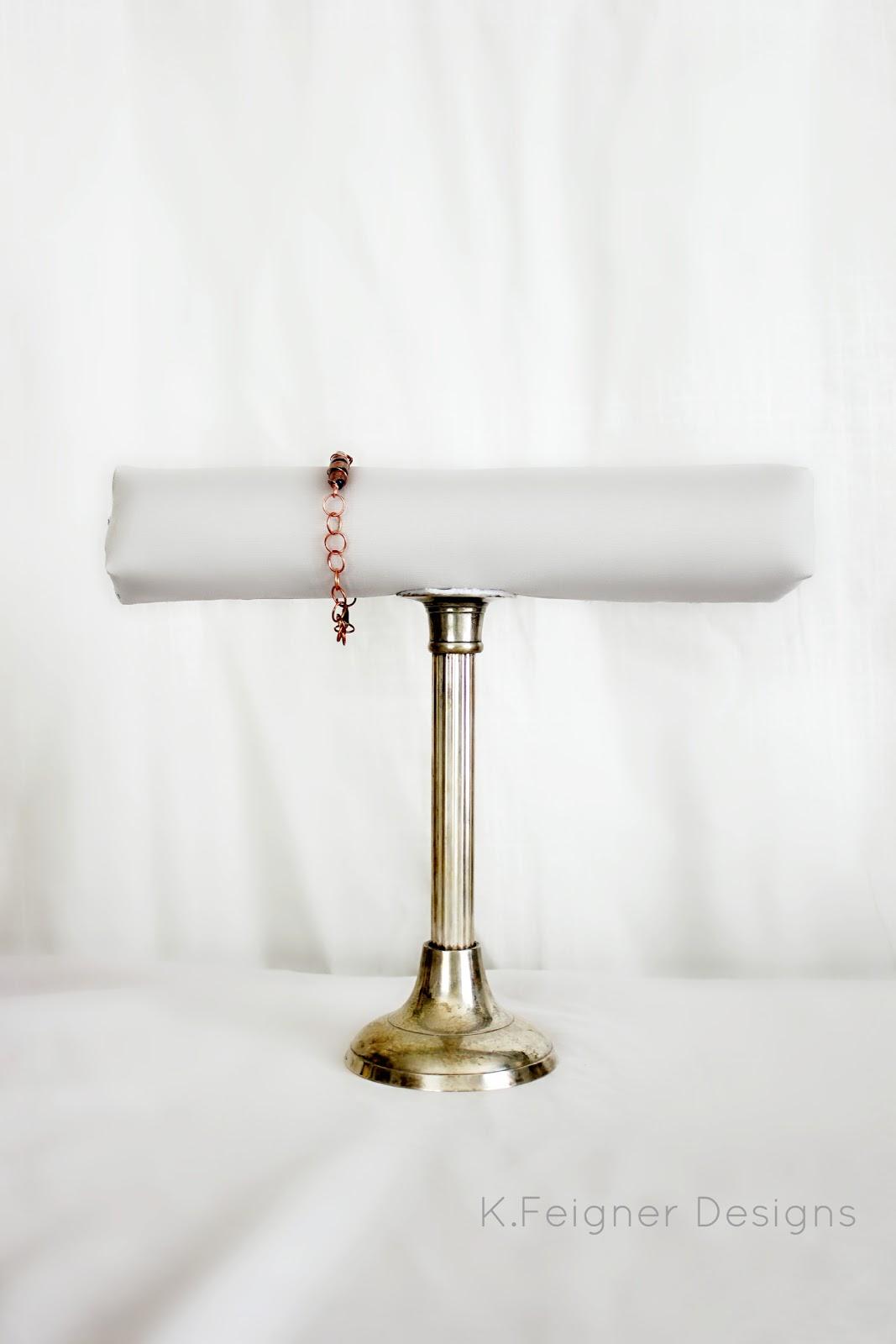 the crafty diy bracelet display holder