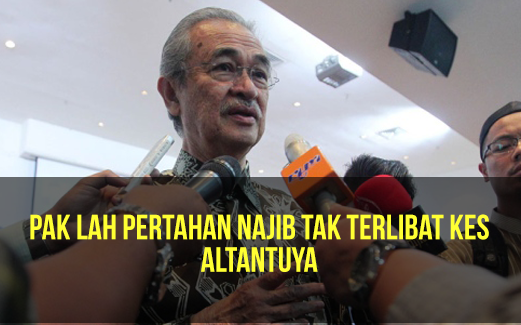 Datuk Seri Najib Tun Razak tidak terlibat langsung dalam kes Altantuya Shaariibuu Pak Lah