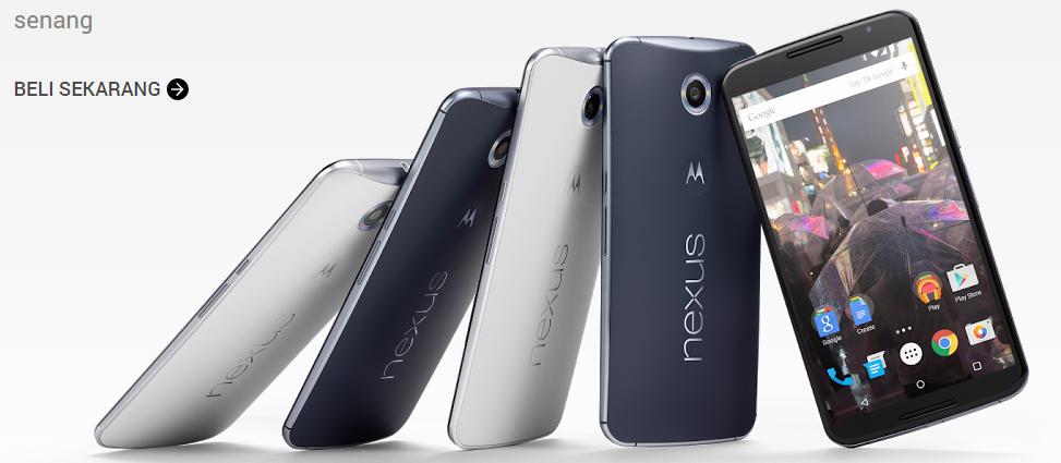 Smartphone dengan spesifikasi terbaik HTC, Samsung, dan Google Nexus 6