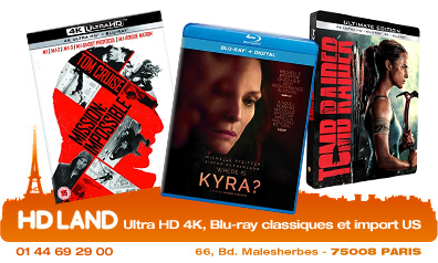 HD LAND - Ultra HD 4K, Blu-ray 3D et import US