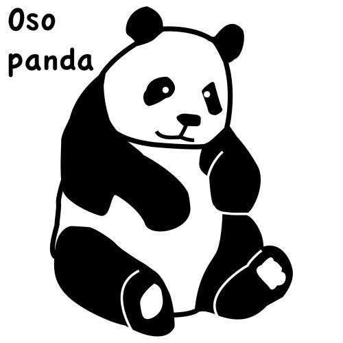 Imagenes • Osos pandas tiernos para colorear