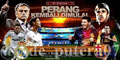 Real Madrid VS Barcelona El CLASICO 2013
