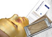 Złote maski na zmarszczki