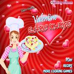 لعبة باربي طبخ عمل مهلبية عيد الحب