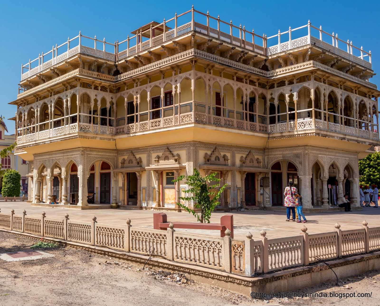 Mubarak Mahal at City Palace Jaipur