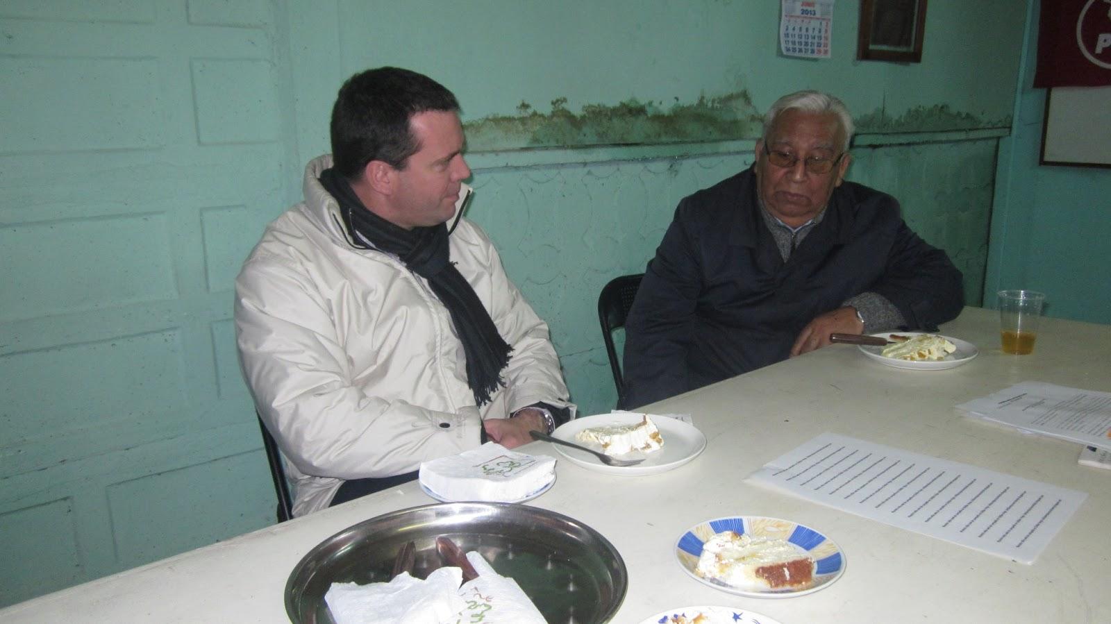 Senador Felipe Harboe en visita a sede chillanvejana