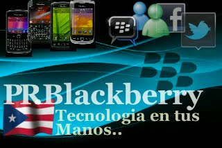El Web Launcher PRblackberry