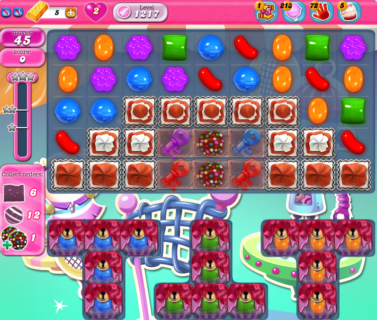 Candy Crush Saga 1217