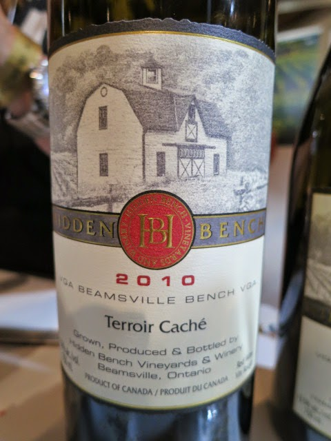Hidden Bench Terroir Caché Meritage 2010 from VQA Beamsville Bench, Ontario, Canada
