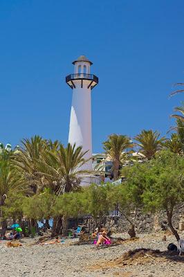 Gran Canaria, Bahia Feliz, wakacje, latarnia morska