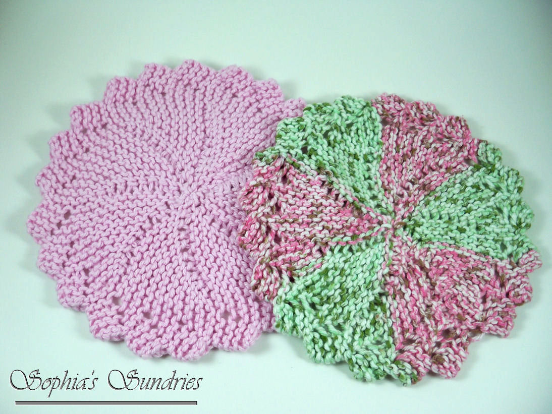January 2013 sophias sundries i mentioned earlier that i love round dishcloths and this is a pattern ive been wanting to make for awhile now its a free one and its quite addicting dt1010fo