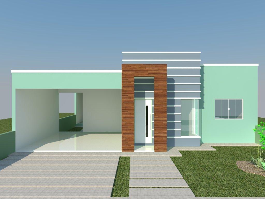 Modelos de casa modernas simples casas pequenas bonitas for Modelos de casas modernas