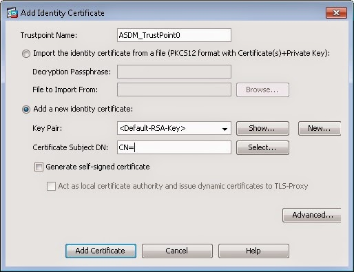 Installing and activating SSL Certificate on Cisco ASA Firewall ...