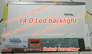 Jual Lcd laptop Toshiba C640  ukuran 14.0 HD LED