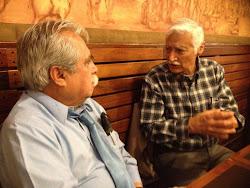 Despiden a Pedro Muñoz (ICE) en Coyoacán, D.F. Mayo 9 de 2012