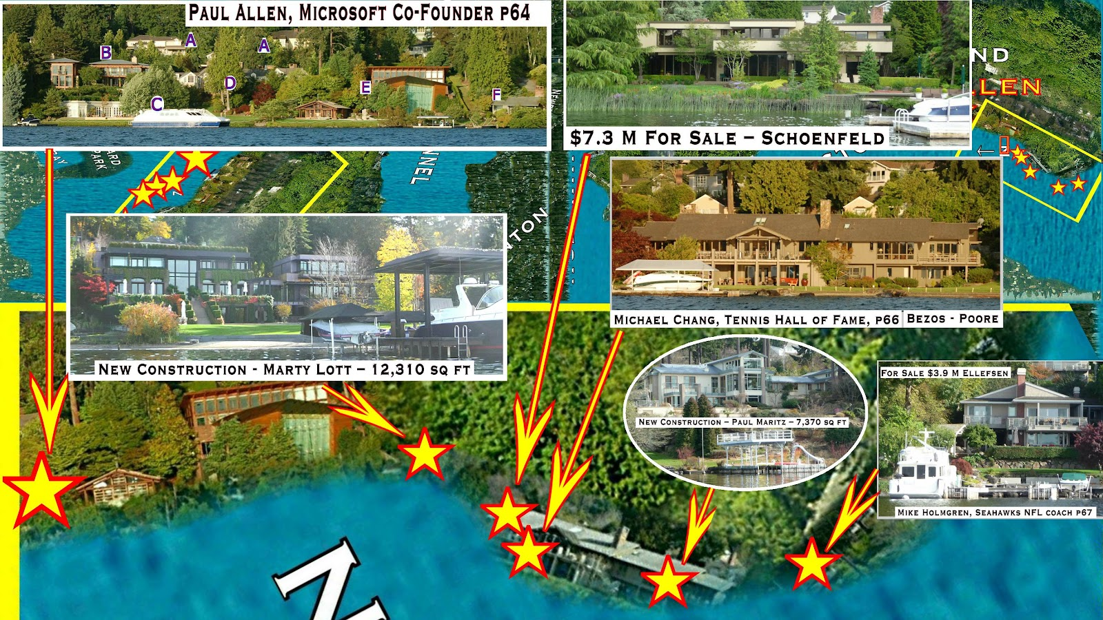 Mercer island luxury waterfront estate idesignarch interior design - Mercer Island Waterfront Homes Finest Mercer Island Waterfront
