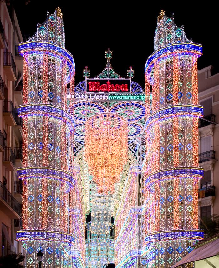 Second Prize Illumintade Streets Fallas Valencia