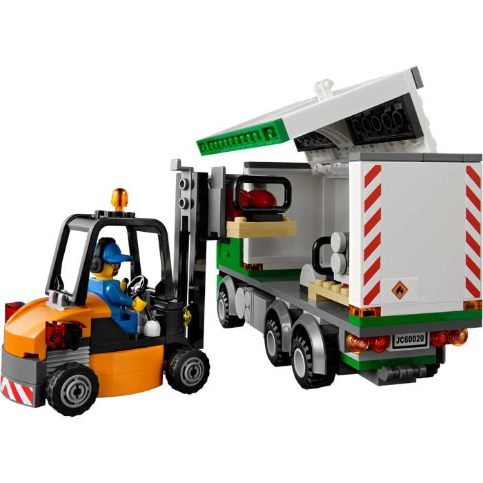 my lego style lego city cargo truck 60020