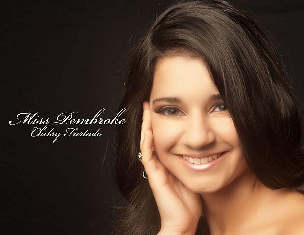 Miss Bermuda 2012 Pembroke Chelsy Furtado