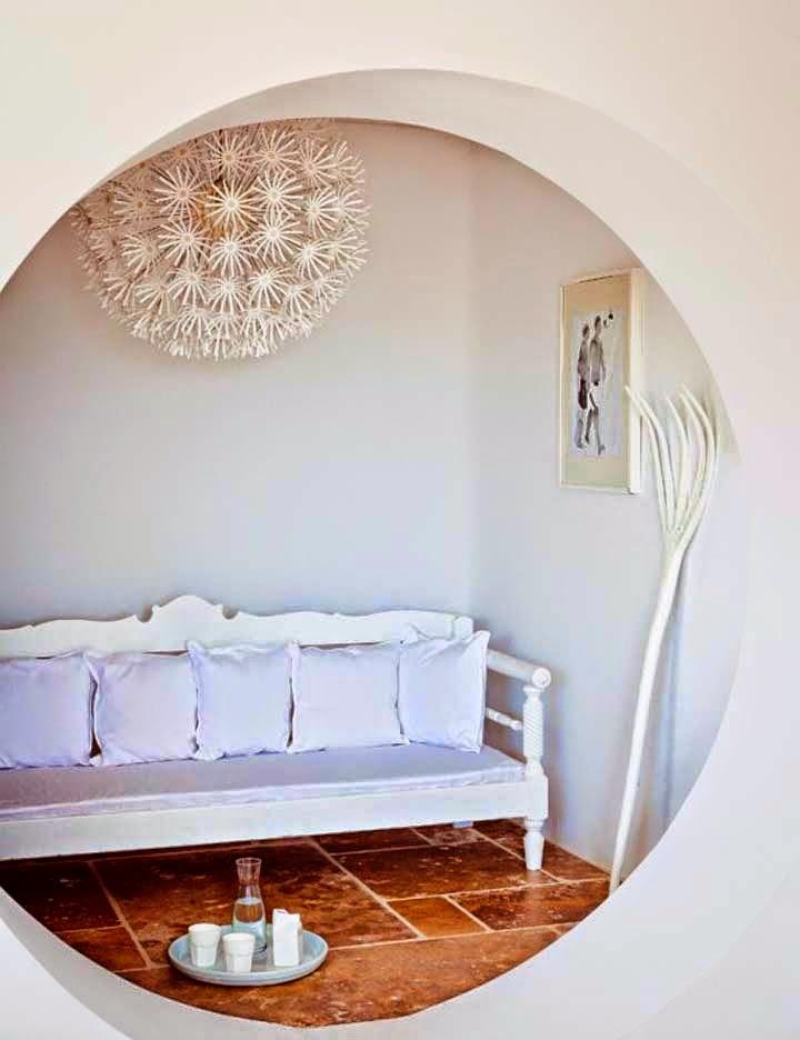 Detalhes do c u casa de praia na ilha de m conos for Canape plural