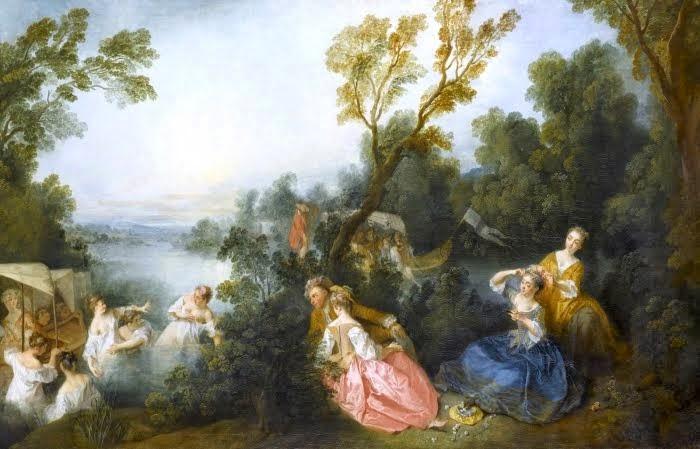 De Watteau à Fragonard - les fêtes galantes