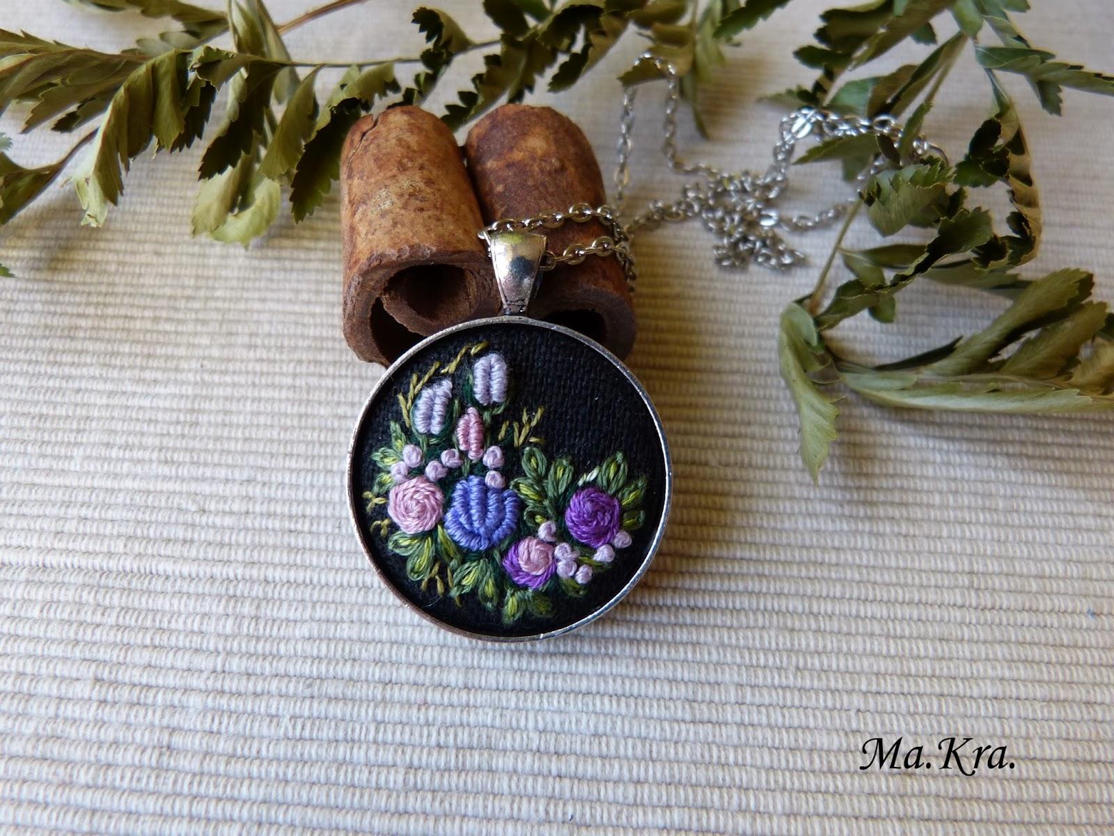 haftowany naszyjnik