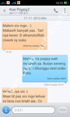 Toko Luch Luch Cake Testimoni