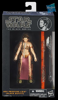 "Hasbro Star Wars The Black Series - Series 2 - 6"" Princess Leia in Slave Outfit Figure"