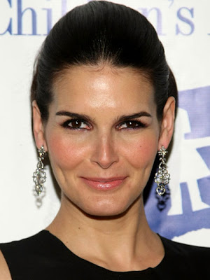 Angie Harmon Sterling Dangle Earrings