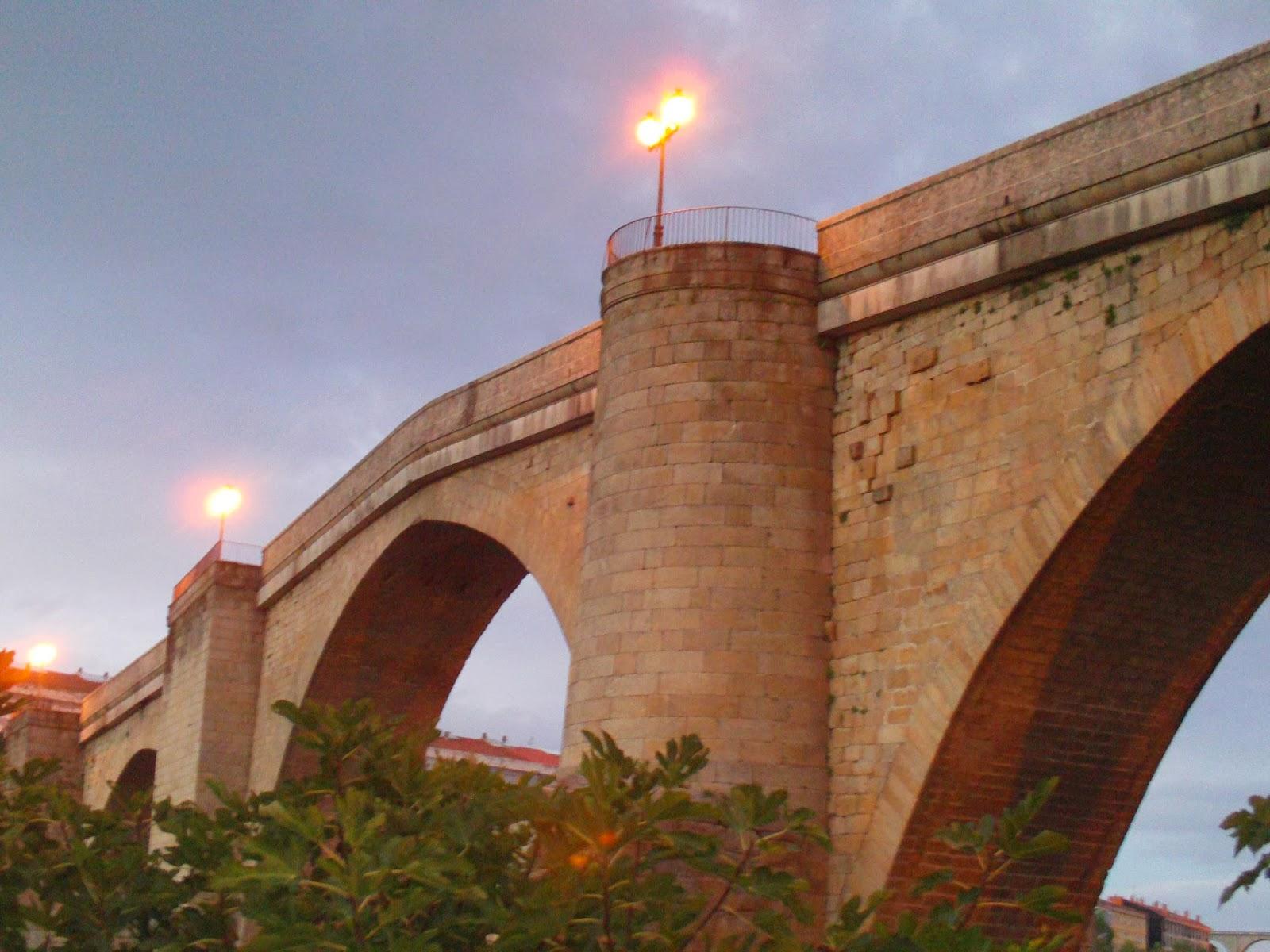 Baños Romanos Ourense:TURISMO CULTURAL OURENSE: PUENTE ROMANO DE OURENSE