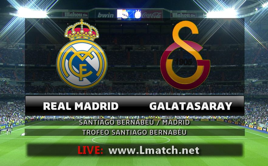 Real Madrid vs Galatasaray LIVE en direct ONLINE