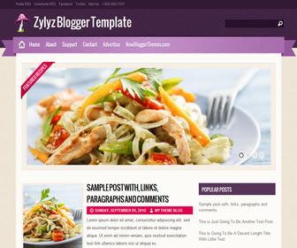 Zylyz Blogger Template