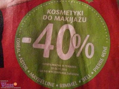-40% na kolorówkę w Drogeriach Natura!