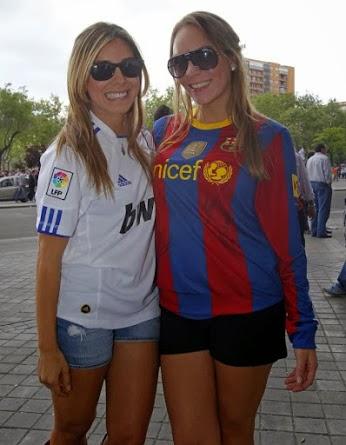 Real Madrid Barcelona chicas guapas sexys bonitas bellas fútbol hermosas