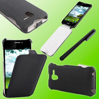 Heat Setting Premium TPE Case Cover for Asus Padfone + Capacitive Stylus E61X