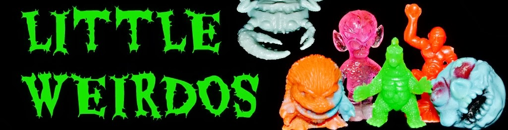 Little Weirdos: Mini figures and other monster toys