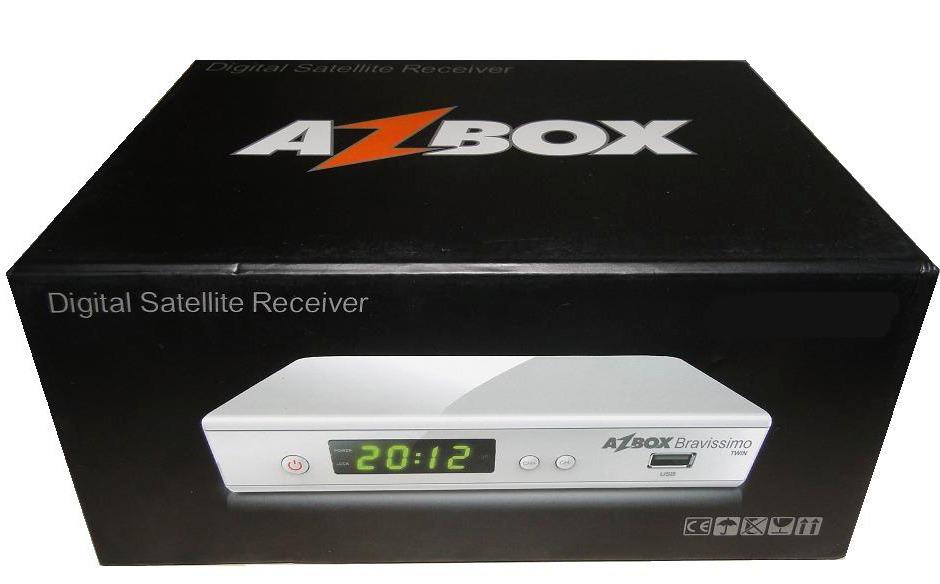 Nova Atualização Azbox Bravíssimo Wiffi 19/02/2014. Azbox-bravissimo-twin-hd-