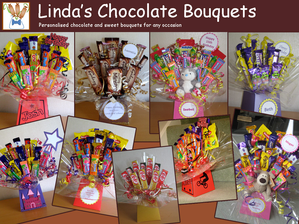 Lindas Candle Corner And Chocolate Bouquets Chocolate Bouquets
